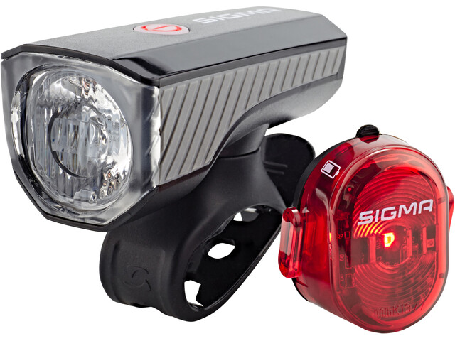 SIGMA SPORT Aura 40 Lighting Set USB/Nugget II